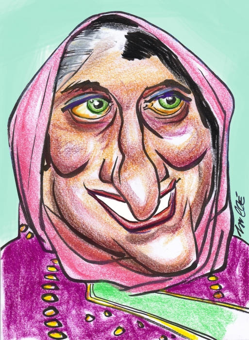 Indira Gandhi by daulle